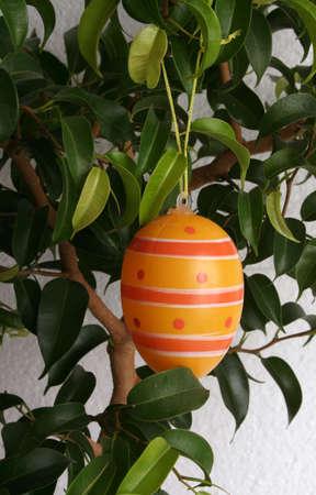 orange hanging egg photo