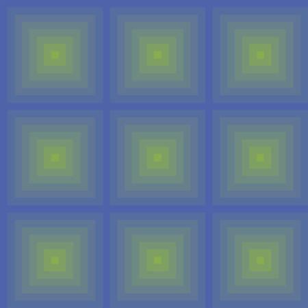 Optical illusion of light pattern