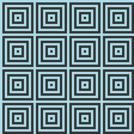 Optical illusion squares pattern