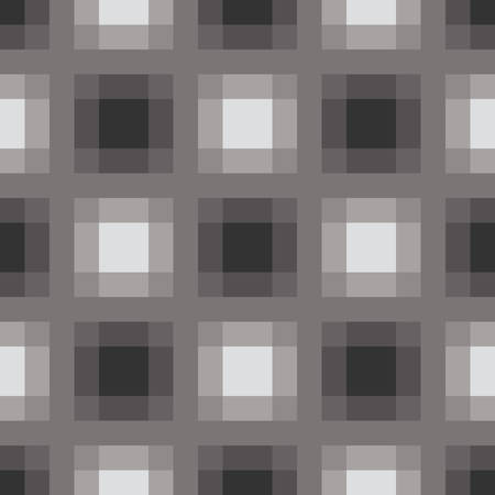 Gradient grayscale squares pattern