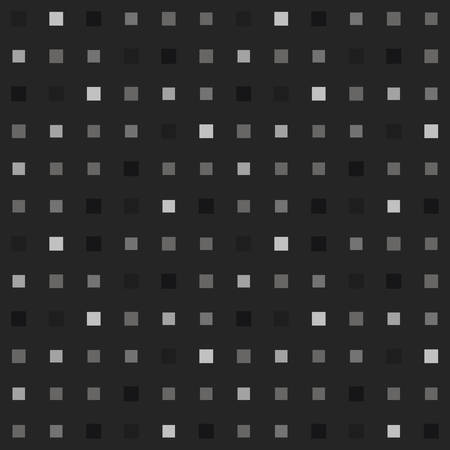 Playful pixel background in grayscale