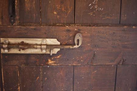 Detail of a gate in arena di Verona Stock Photo