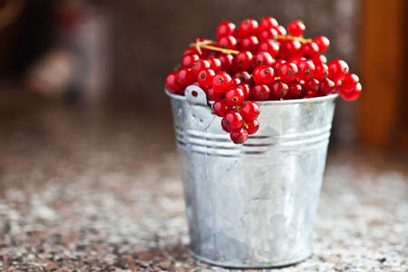 Redcurrant in a vase Stock Photo
