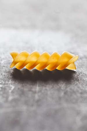 fusilli pasta Stock Photo