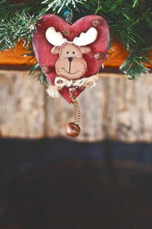 a christmas reindeer decoration