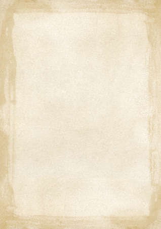 Vertical light brown A4 size grunge retro style background