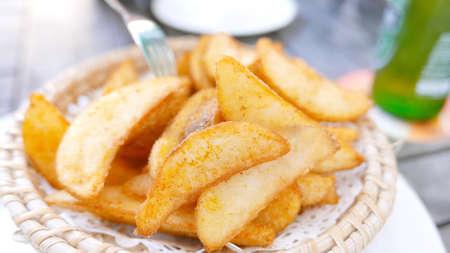 potato fries: Potato fries