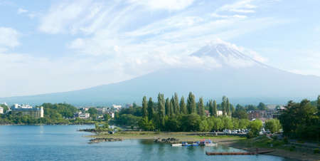 tripping: Mt. Fuji  Fujiyama Mountain and lake