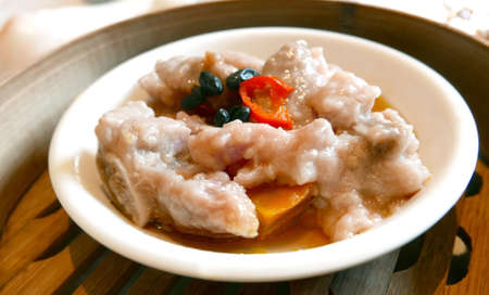 Steamed pork ribs - Chinese food dim sum