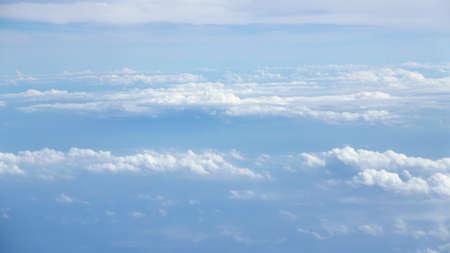 cloudscape: Cloudscape in blue sky