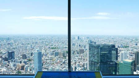 sight seeing: Sight seeing Japan from tall buildings window