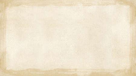 widescreen: Beige brown grunge retro border textured background  widescreen