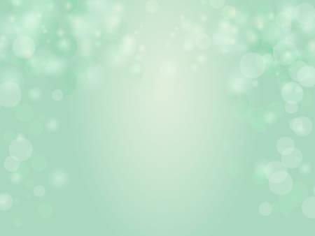 standard size: Standard size - Gradient mint green bokeh background Illustration