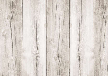 White wooden textured woodgrain background with metal screws Banco de Imagens - 64512887