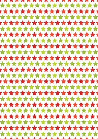 chrstmas: Vertical red and green star seamless texture Chrstmas paper background