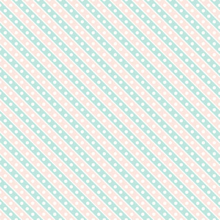 Seamless pastel pink and green textured pattern gift wrapping paper background