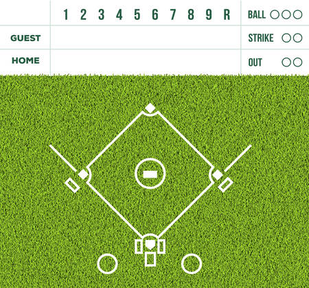 225 Baseball Scoreboard Cliparts, Stock Vector And Royalty Free ...