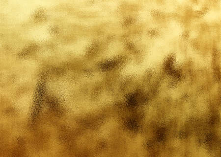 foil: The golden shiny abstract metallic textured background
