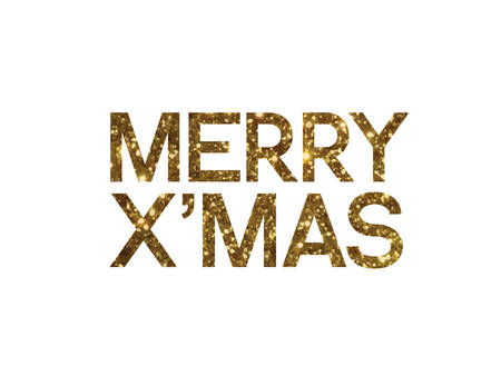 Merry Christmas Writing Images.The Golden Glitter Of Isolated Hand Writing Word Merry Christmas