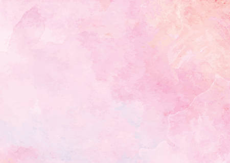 The pastel pink watercolor ink brush paper background