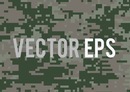 The dark green military camouflage textured background