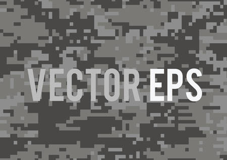 The dark grey military camouflage textured background