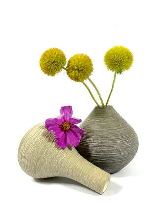wilting: flores marchitas de verano Foto de archivo