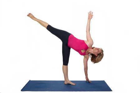 Iyengar Yoga Stock Photos & Pictures. Royalty Free Iyengar Yoga ...