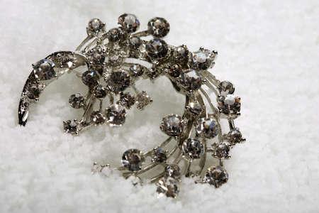 costume jewellery: Costume jewellery on ice