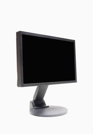 liquid crystal: vista del monitor de la computadora de lcd (cristal l�quido)