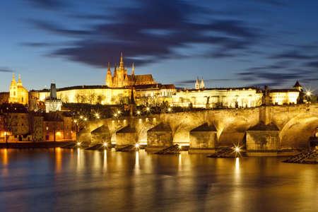 czech republic, prague - charles bridge  photo