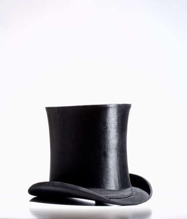Black Top Hat  Standard-Bild