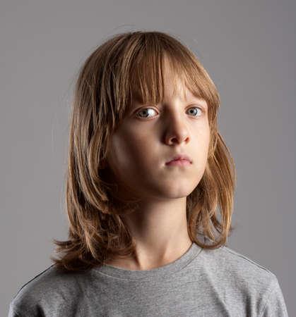 Long Hair Boy Stock Photos And Images 123rf