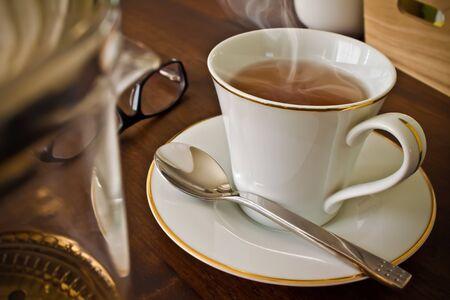 お茶の時間 写真素材