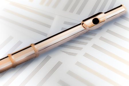 boehm system: Flute Head Joint14K Rose Gold