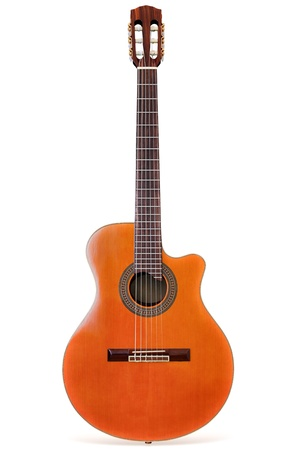 Classical Guitar/Isolated  Stock Photo - 9654716