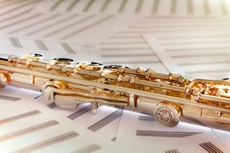 boehm system: Golden Flute14 K rose gold