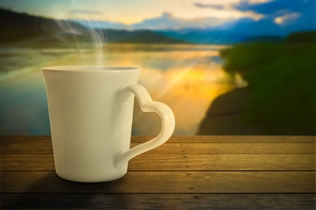 morning nature: Hot Tea in the Morning