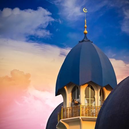 sunni: Mosque  Square Composition