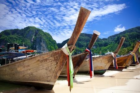 krabi: Lunga coda barca