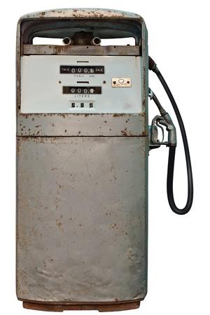 shorten: Alejado de Gas Vintage vista estaci�n vertical