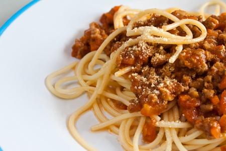 Spaghetti Sauce with Ground Beef  Stock Photo