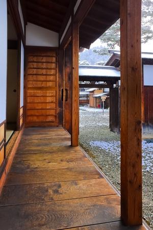 Balcony of a Japanese House Stock Photo - 13393204