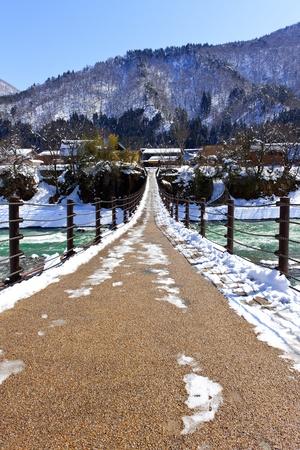 Bridge to Shirakawago photo