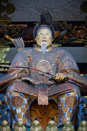 shogun: Statue of Shogun Ieyasu at Toshogu Shrine, Nikko