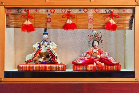 Japanese Hina Dolls  photo
