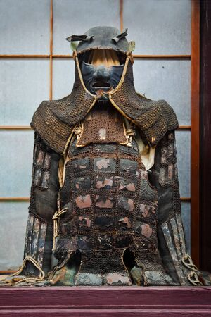 Vintage Ninja Suit with Equipments