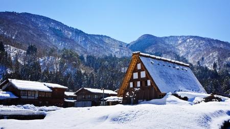 Cottage at Gassho-zukuri Village Shirakawago photo