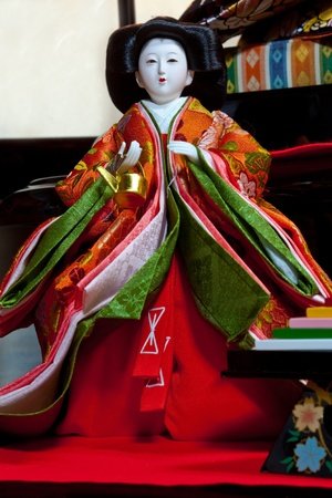 Japanese Hina Doll photo