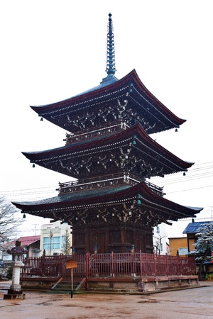 Pagoda at Hida Kokubunji Temple photo